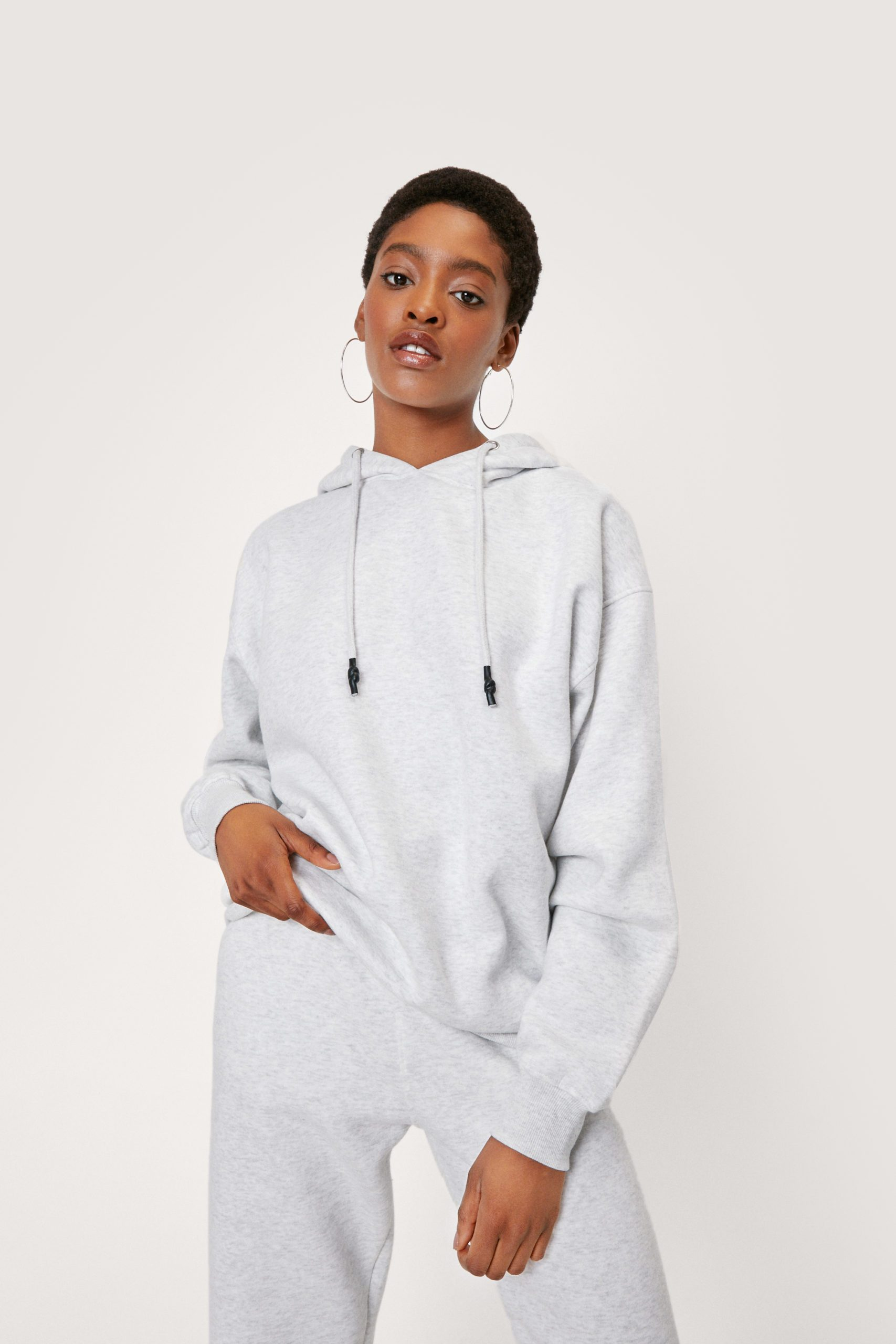 Oversized Hoodie And Jogger Set