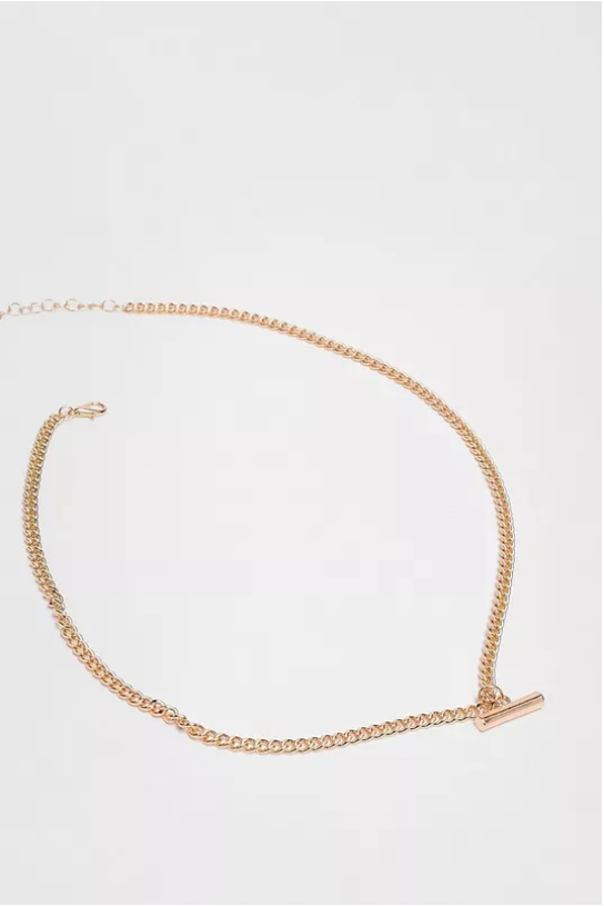 T-Bar Chain Necklace