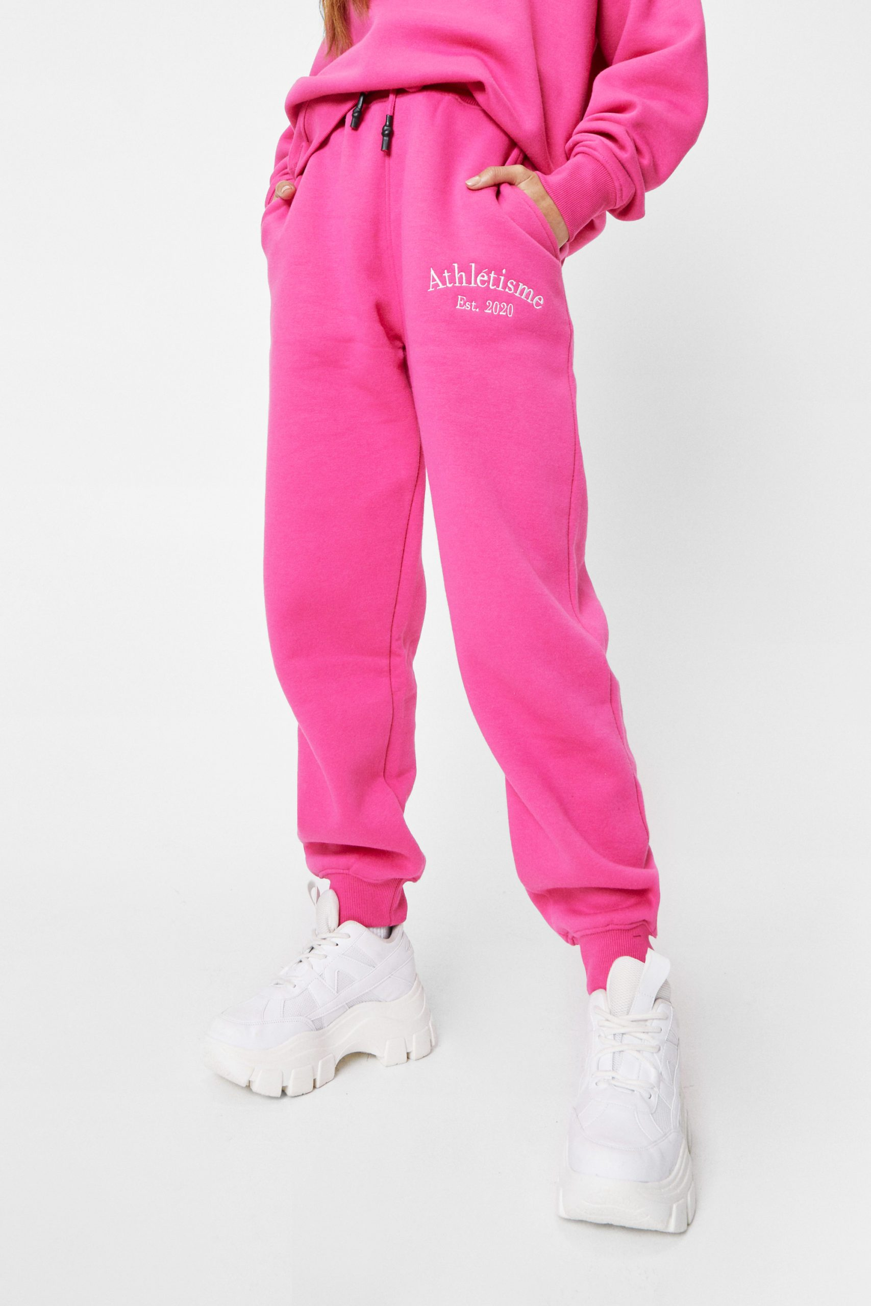 Petite Athletisme Embroidered Joggers