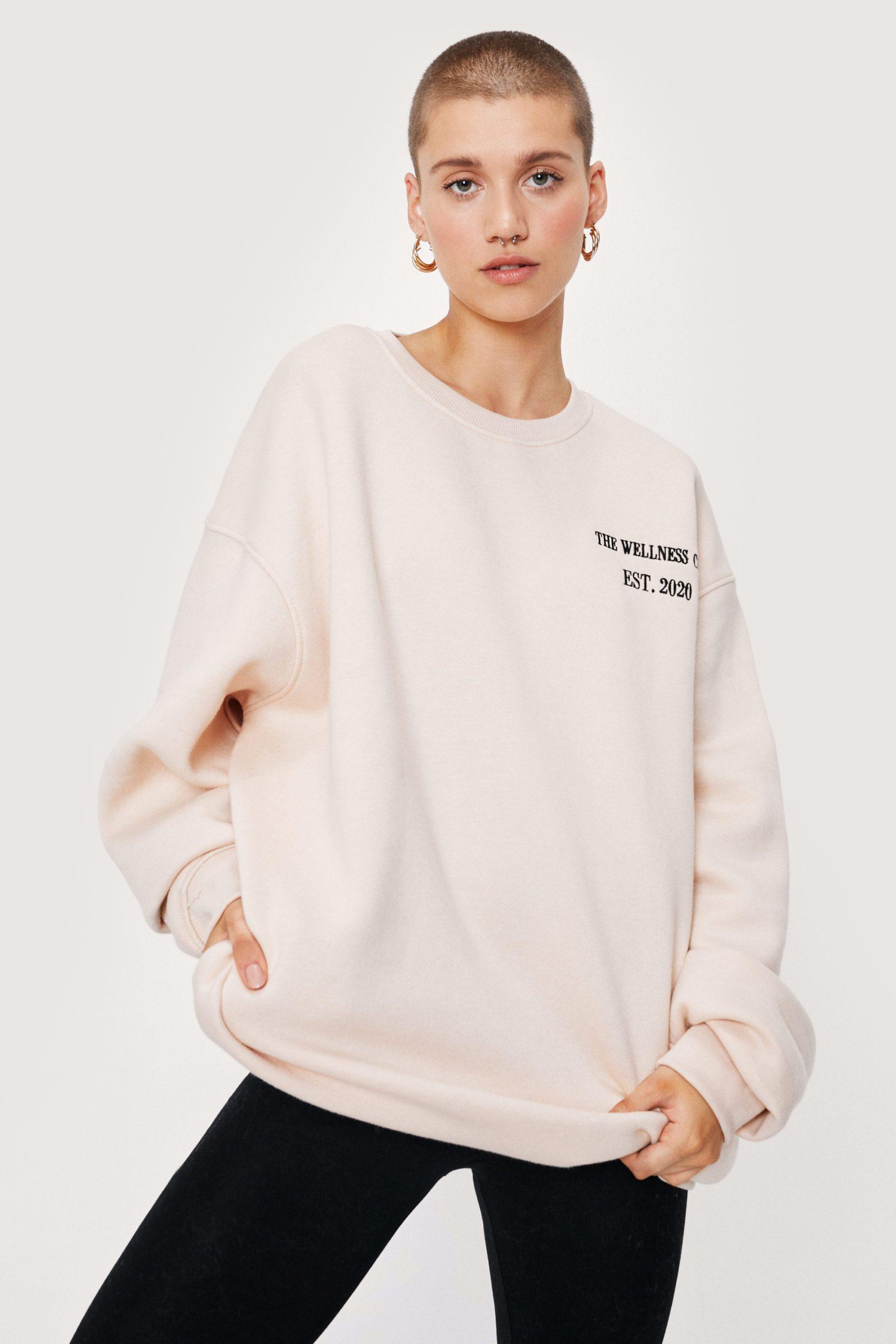 The Wellness Club Oversized Sweatshirt