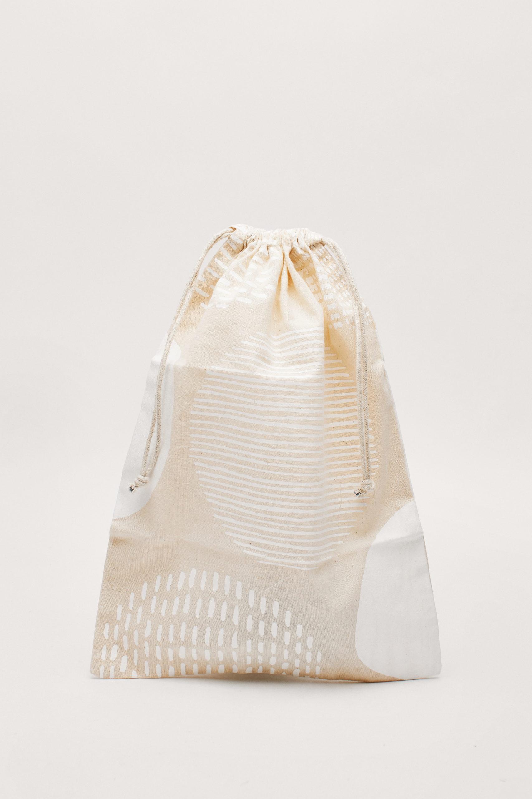 &Sisters 100% Organic Drawstring Bag